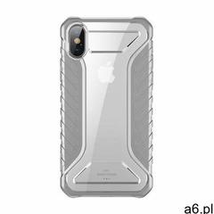 Baseus Michelin Case designerskie etui pokrowiec Apple iPhone XS Max szary (WIAPIPH65-MK0G), 48943 ( - ogłoszenia A6.pl