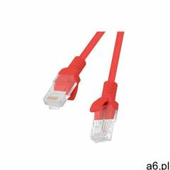 patchcord utp kat.5e 0.25m czerwony pcu5-10cc-0025-r - pcu5-10cc-0025-r- natychmiastowa wysyłka, pon - ogłoszenia A6.pl