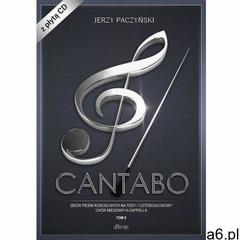Cantabo t.2 zbiór pieśni chóralnych+cd - praca zbiorowa, oprawa broszurowa - ogłoszenia A6.pl
