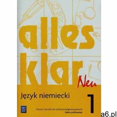 Alles Klar Neu 1. Język Niemiecki. Ćwiczenia. Szkoła Ponadgimnazjalna. Zakres Podstawowy (2015) - ogłoszenia A6.pl