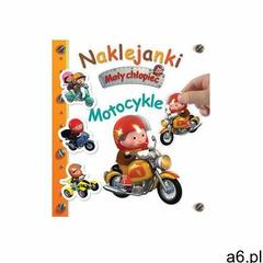 Naklejanki. Mały chłopiec. Motocykle - Nathalie Belineau, Alexis Nesme (ilustr.) - książka - ogłoszenia A6.pl