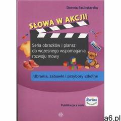 Słowa w akcji Ubrania zabawki i przybory szkol - Dorota Szubstarska - ogłoszenia A6.pl