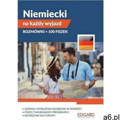 Pakiet. Niemiecki na każdy wyjazd. Rozmówki + 100 fiszek - opracowanie zbiorowe - książka (97883 - ogłoszenia A6.pl