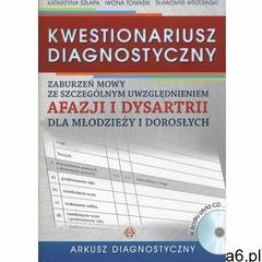 Kwestionariusz diagnostyczny arkusz diagnostyczny, HARMONIA - ogłoszenia A6.pl