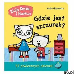 Kicia Kocia i Nunuś Gdzie jest szczurek? (12 str.) - ogłoszenia A6.pl