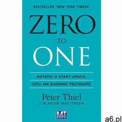 Zero to One - Peter Thiel, Blake Masters (224 str.) - ogłoszenia A6.pl