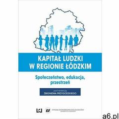 Kapitał ludzki w regionie łódzkim. Społeczeństwo, edukacja, przestrzeń - No author - ebook - ogłoszenia A6.pl