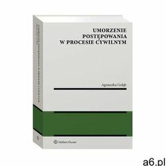 Umorzenie postępowania w procesie cywilnym - agnieszka gołąb (pdf) (9788381874380) - ogłoszenia A6.pl