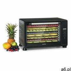 Klarstein mega jerky, automat do suszenia, wyświetlacz dotykowy lc, 8 poziomów, 650 w, 35–80°c, czar - ogłoszenia A6.pl