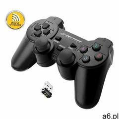 """Gamepad bezprzewodowy 2.4ghz ps3/pc usb """"gladiator"""" czarny marki Esperanza - ogłoszenia A6.pl"""