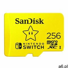 KARTA SANDISK NINTENDO SWITCH microSDXC 256 GB 100/90 MB/s V30 UHS-I U3 - ogłoszenia A6.pl