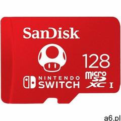 KARTA SANDISK NINTENDO SWITCH microSDXC 128 GB 100/90 MB/s V30 UHS-I U3 - ogłoszenia A6.pl