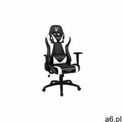 fotel gamingowy biało-czarny Sakura - ogłoszenia A6.pl