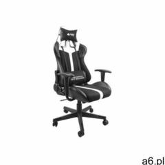 Fotel dla gracza Fury Avenger XL czarno-biały (5901969426823) - ogłoszenia A6.pl