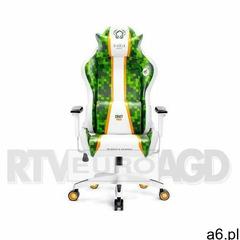 Fotel DIABLO X-ONE Craft (L) Biało-zielony - ogłoszenia A6.pl