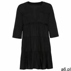 Sukienka tunikowa z koronką bonprix czarny, kolor czarny - ogłoszenia A6.pl