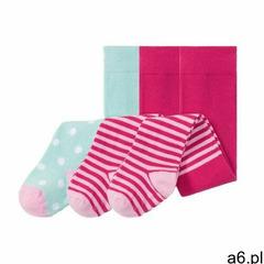 Lupilu® pure collection rajstopy niemowlęce, 3 p (4056233804522) - ogłoszenia A6.pl