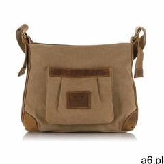 Brązowa damska torebka miejska, kolor brązowy - ogłoszenia A6.pl