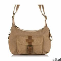 Miejska torebka damska brązowa, kolor brązowy - ogłoszenia A6.pl