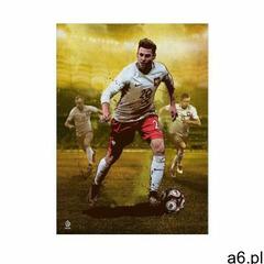 Displate Plakat metal poster pzpn piszczek football heroes rozmiar xs - ogłoszenia A6.pl