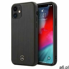 "Mercedes MEHCP12SVWOBR iPhone 12 mini 5,4"" brązowy/brown hardcase Wood Line Rosewood (3700740484 - ogłoszenia A6.pl"