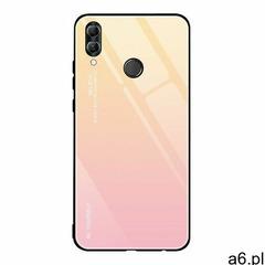 Gradient Glass etui pokrowiec nakładka ze szkła hartowanego Huawei P20 Lite różowy (9111201890343) - ogłoszenia A6.pl