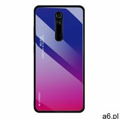Gradient Glass etui pokrowiec nakładka ze szkła hartowanego Huawei Mate 20 Lite różowo-fioletowy, ko - ogłoszenia A6.pl