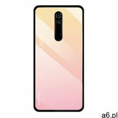 Gradient Glass etui pokrowiec nakładka ze szkła hartowanego Huawei Mate 20 Lite różowy, kolor różowy - ogłoszenia A6.pl