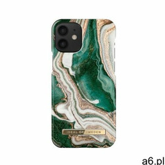iDeal of Sweden Fashion Case Etui Obudowa do iPhone 12 Mini (Golden Jade Marble) - ogłoszenia A6.pl