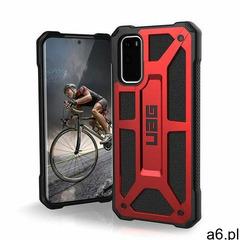 Urban Armor Gear Monarch Etui Pancerne do Samsung Galaxy S20 (Crimson) - ogłoszenia A6.pl