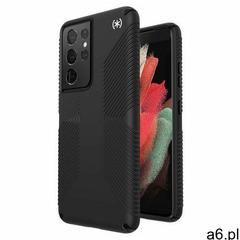 Speck Presidio2 Grip Etui Ochronne do Samsung Galaxy S21 Ultra z Powłoką Microban (Black/Black/White - ogłoszenia A6.pl