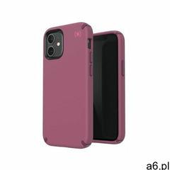 Speck presidio2 pro etui ochronne do iphone 12 mini z powłoką microban (lush burgundy/azalea burgund - ogłoszenia A6.pl