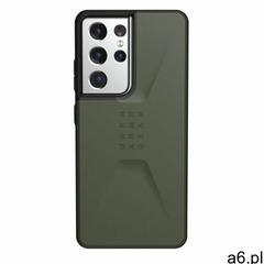 Urban Armor Gear Civilian Etui Pancerne do Samsung Galaxy S21 Ultra (Olive) - ogłoszenia A6.pl