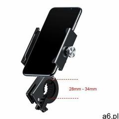 Baseus Knight metalowy uchwyt do telefonu na rower motor motocykl na kierownicę czarny (CRJBZ-01) -  - ogłoszenia A6.pl