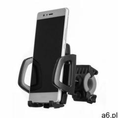 Uchwyt rowerowy na kierownicę na telefon czarny marki Hurtel - ogłoszenia A6.pl