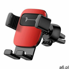 Baseus cube grawitacyjny uchwyt samochodowy na kratkę wentylacyjną nawiew na telefon czerwony (suyl- - ogłoszenia A6.pl