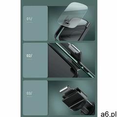 Baseus 5w1 elektrycznie zamykany uchwyt samochodowy bezprzewodowa ładowarka Qi 10 W + ładowarka  - ogłoszenia A6.pl