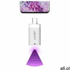 Mini mobilny sterylizator lampa uv uvc do telefonu ze złączem usb typ c otg biały marki Hurtel - ogłoszenia A6.pl