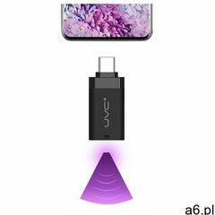 Mini mobilny sterylizator lampa UV UVC do telefonu ze złączem USB Typ C OTG czarny - ogłoszenia A6.pl