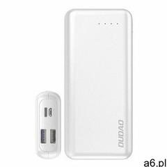 Dudao 2x USB power bank 20000mAh Power Delivery Quick Charge 4.0 3,7A 45W biały (K12PRO white) (6970 - ogłoszenia A6.pl