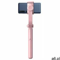 Baseus selfie stick teleskopowy rozsuwany kijek do selfie statyw z pilotem Bluetooth różowy (SULH-04 - ogłoszenia A6.pl