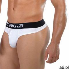 Stringi męskie FANKAZI Sporty White, kolor biały - ogłoszenia A6.pl