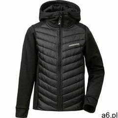 Didriksons halden hybrid 3 hoodie boys, black 150 2021 kurtki codzienne - ogłoszenia A6.pl