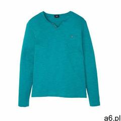 Shirt z długim rękawem bonprix matowy turkusowy melanż - ogłoszenia A6.pl