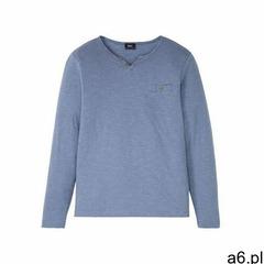 Bonprix Shirt z długim rękawem niebieski indygo melanż - ogłoszenia A6.pl