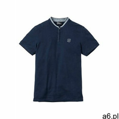 "Shirt ""pique"" ze stójką ciemnoniebieski marki Bonprix - ogłoszenia A6.pl"