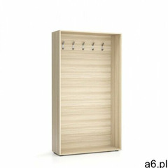 Ścianka na ubrania (wieszak), 5 haczyków, naturalny dąb - ogłoszenia A6.pl