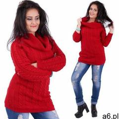 Amstyl Sweter sweterek golf luźny miękki /063 - ogłoszenia A6.pl