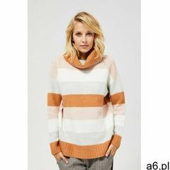 Sweter w pasy z golfem 8C39B0 - ogłoszenia A6.pl