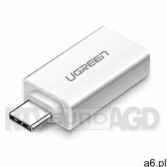 Ugreen us-173 adapter usb-a do usb-c (biały) (6957303831555) - ogłoszenia A6.pl